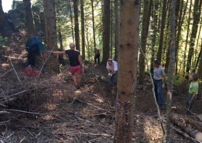 Journée de travail du Club Vosgien à Malmerspach