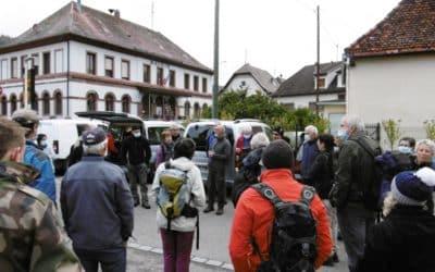 Journée de travail 11 octobre 2020: sentier Bernard ARNOLD à KRUTH