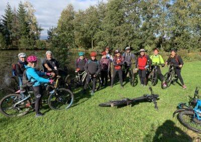 Sortie VTTAE du 24 octobre 2020 : Le  Sundgau  -circuit N° 17 de Ballersdorf